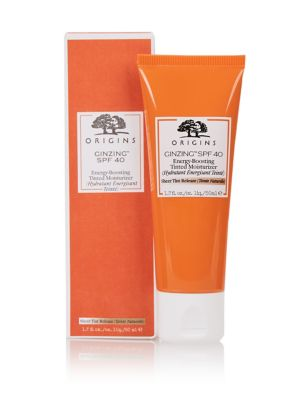 Ginzing™ Spf40 Energy Boosting Tinted Moisturizer 50ml by Marks & Spencer