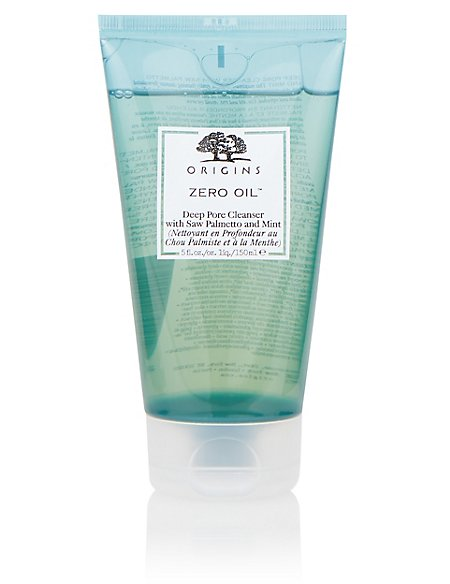 Zero Oil™ Deep Pore Cleanser with Saw Palmetto & Mint 150ml