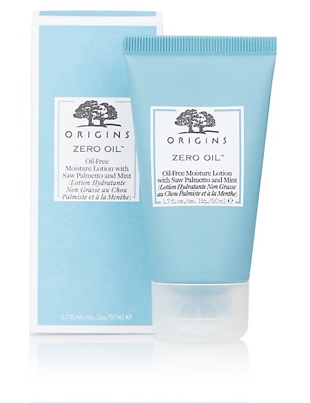 Zero Oil™ Oil-Free Lotion with Saw Palmetto & Mint 50ml
