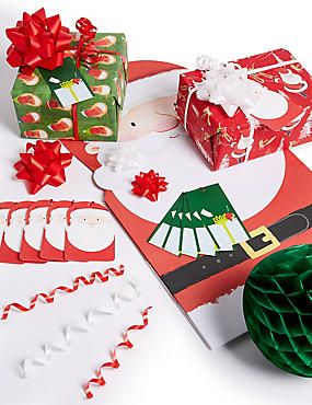 Kids Christmas Gift Wrapping Collection
