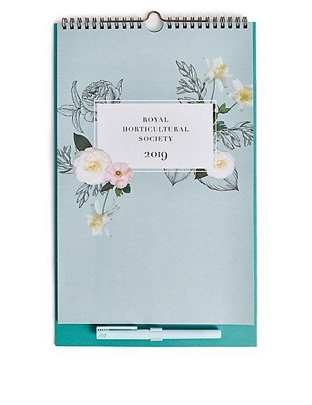 Royal Horticultural Society 2019 Calendar