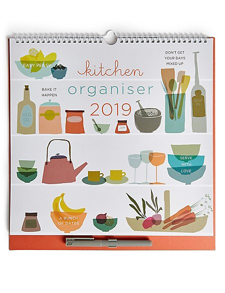 Kitchen 2019 Family Organiser