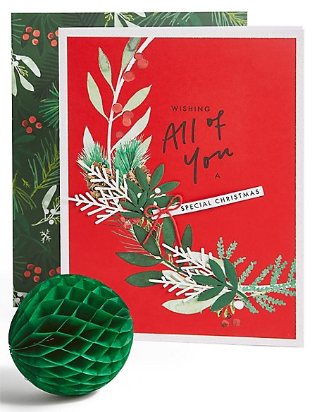 All of You Foliage Christmas Charity Card