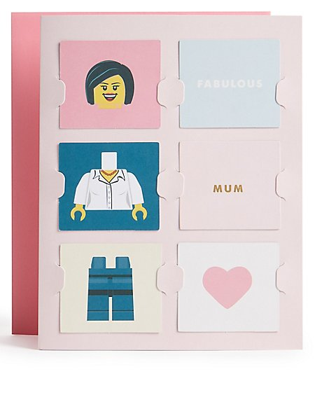 Lego™ Personalised Mother's Day Card