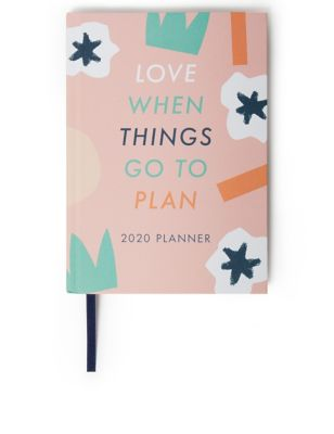 Colourful 2020 A5 Family Diary Planner by Marks & Spencer