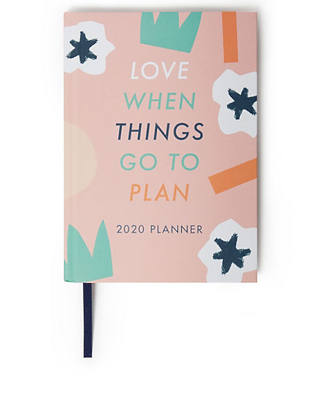 Colourful 2020 A5 Family Diary Planner
