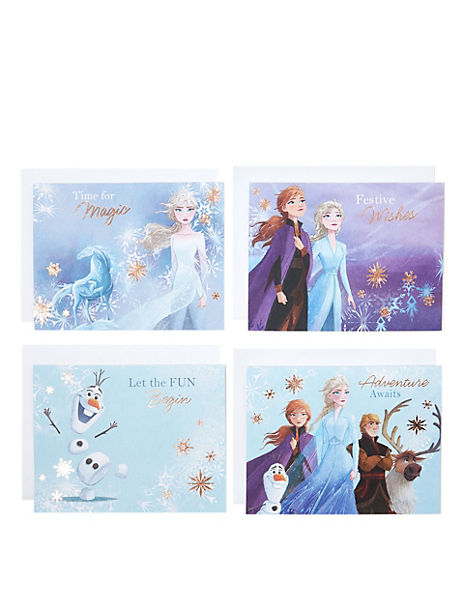 Disney Frozen 2 Charity Christmas Cards - Pack of 20