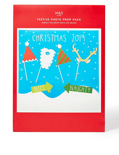 Novelty Christmas Photo Prop Pack