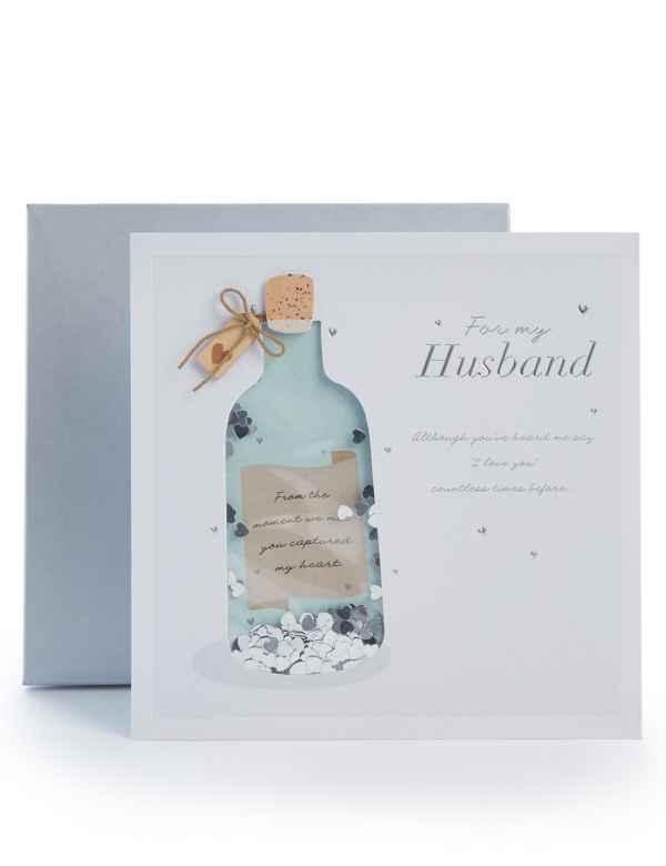 Husband Boxed Birthday Card