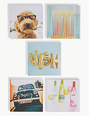 Pack of 5 Blank Cards