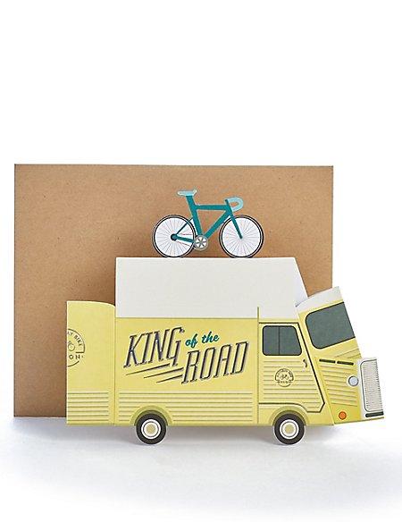 Pop-up Van Birthday Card