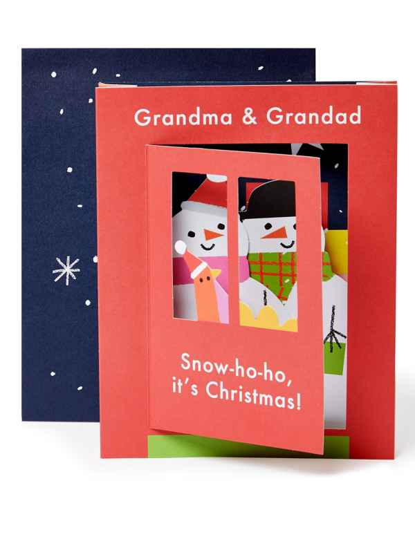 Christmas Picture Cards.Luxury Christmas Cards Traditional Greeting Card Packs M S