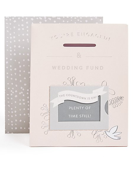 Wedding Countdown Engagement Card