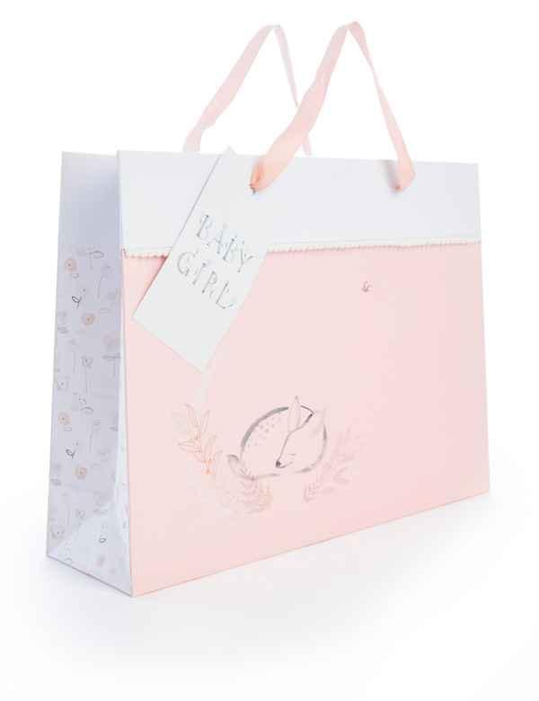 Large Baby Girl Gift Bag