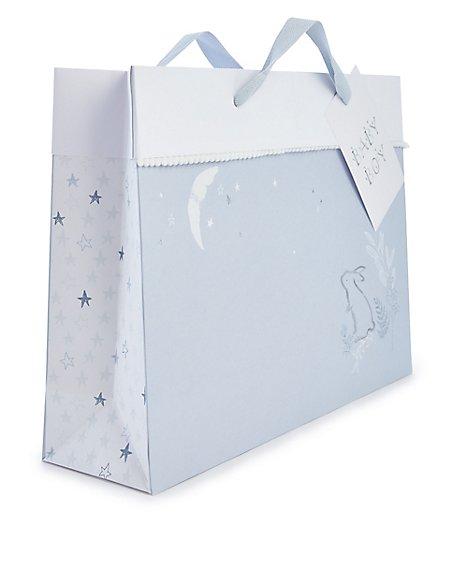 Large Baby Boy Gift Bag