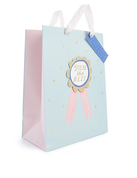 Large 'You're the Best' Gift bag