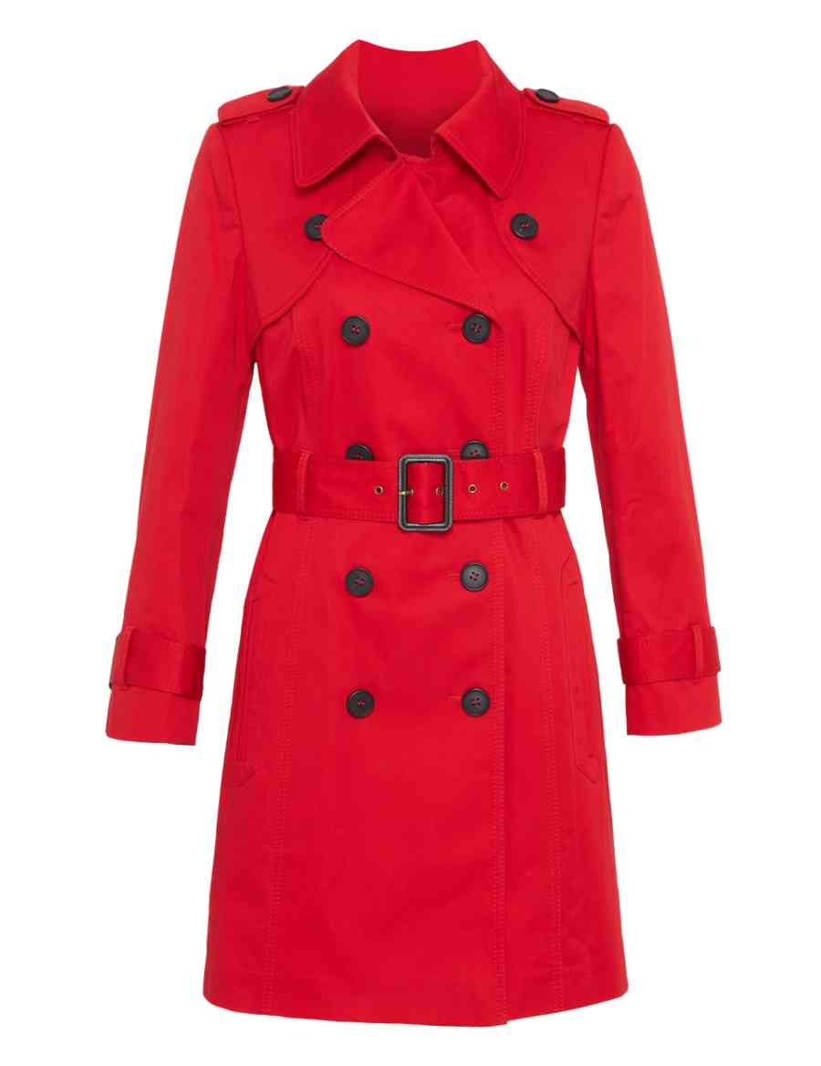c02335eb894 Petite Pure Cotton Double Breasted Belted Trench Coat with Stormwear ...