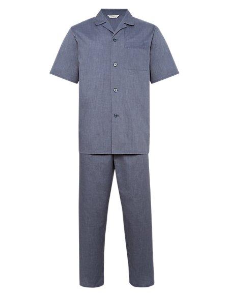 Cross Dye Short Sleeve Pyjamas