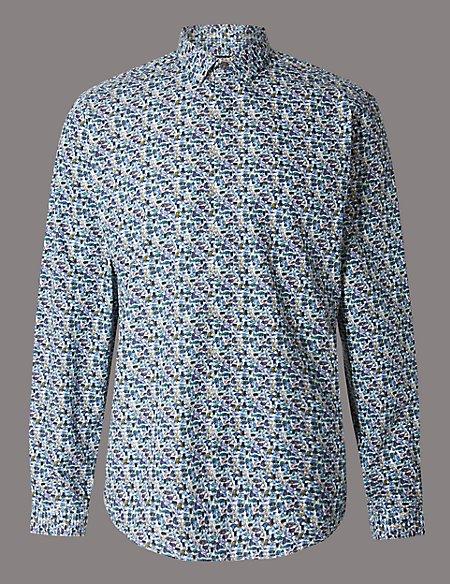 Pure Cotton Slim Fit Luxury Shirt