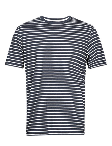 Tailored Fit Pure Cotton Stay Soft T-Shirt