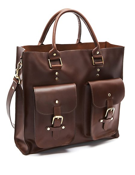 Best Of British Leather Tote Bag