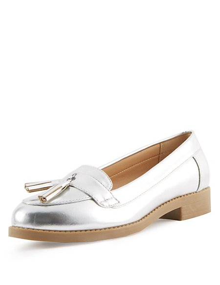 Kids' Tassel Loafers