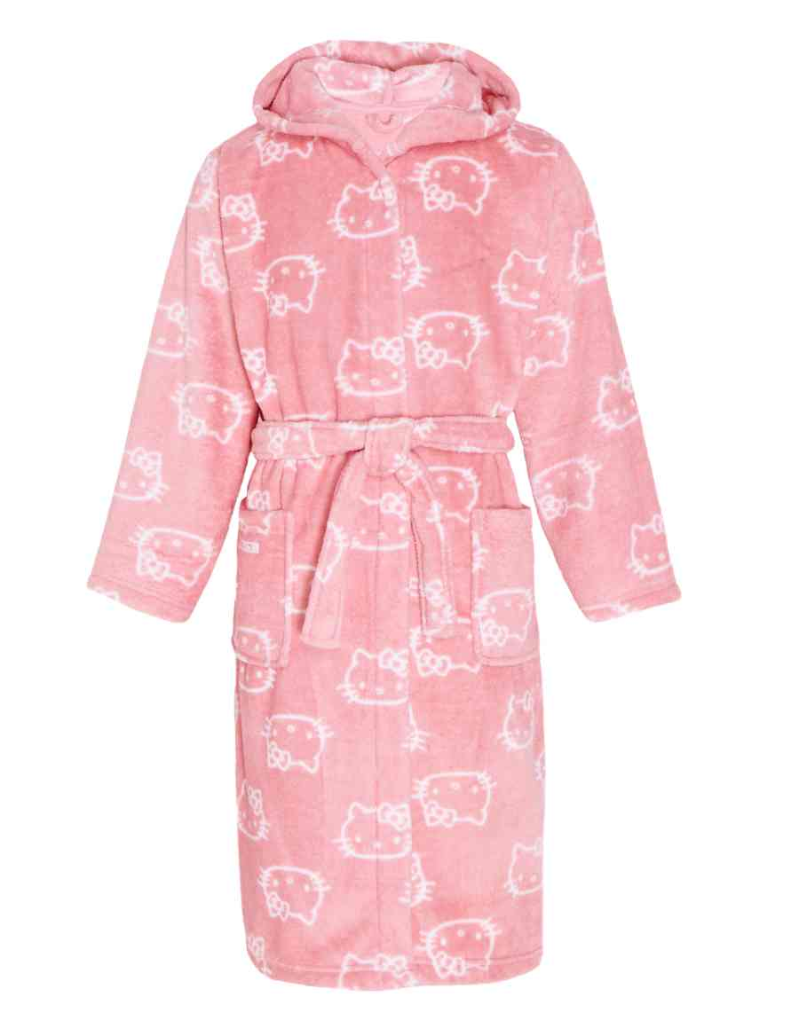 0045e746e9 Hello Kitty Hooded Dressing Gown (5-14 Years)