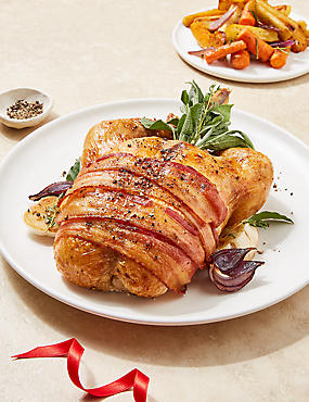 Easy Carve Chicken with Pork, Sage & Onion Stuffing (Serves 4) - Pre-Order: Collect between 5th & 20th December