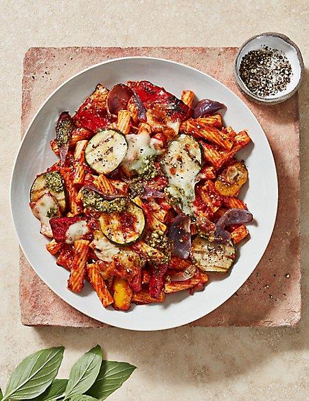 Chargrilled Vegetable Pasta Bake (Serves 2)