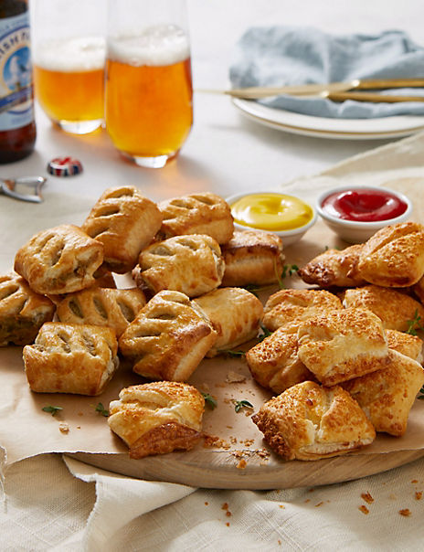 Savoury Sausage Roll Selection (24 Pieces)