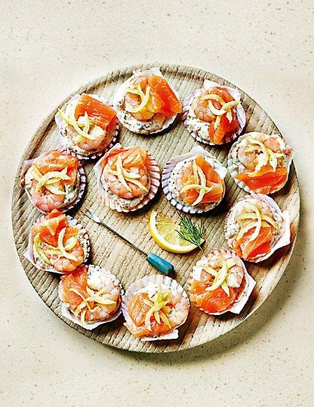 Mini Seafood Shells (20 Pieces)