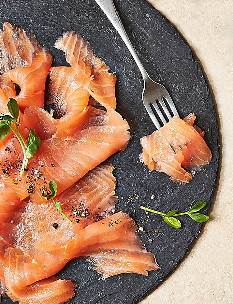 Speybay Oak-Smoked Scottish Lochmuir™ Salmon (8 Slices)