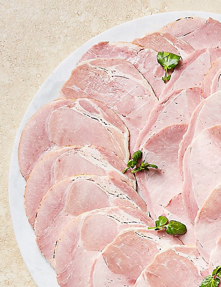 British Outdoor Bred Pre-sliced Wiltshire Ham (Approx. 10 Slices)