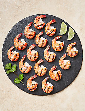 Chargrilled Easy-Peel Black Tiger Prawns (Serves 4)