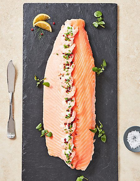 Poached Dressed Scottish Lochmuir™ Salmon (Serves 6-8)