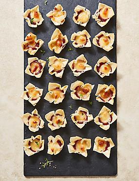 Brie & Cranberry Tartlets (24 Pieces)