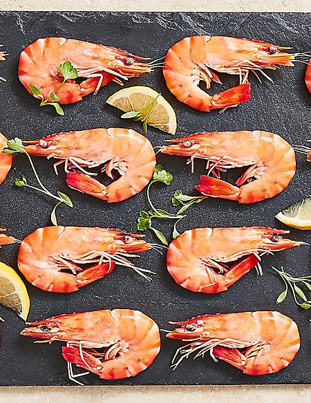 Madagascan Shell-on Tiger Prawns (20 Pieces)