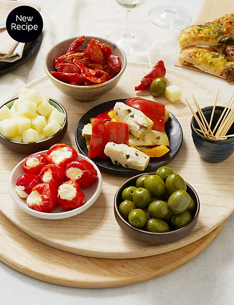 Olive & Antipasti Platter (Serves 6-8)