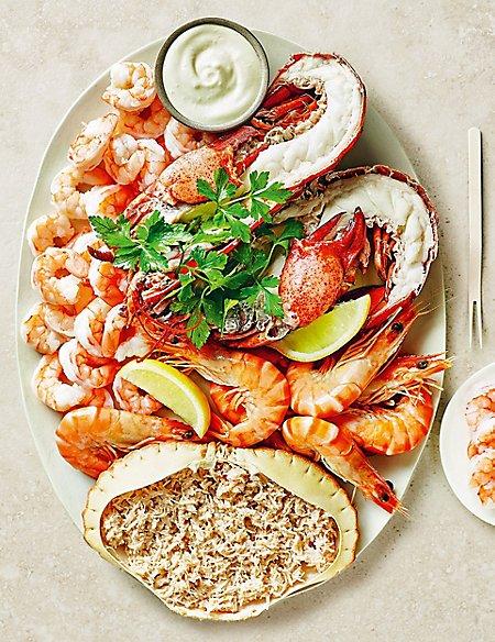 Shellfish Platter (Serves 2-4)