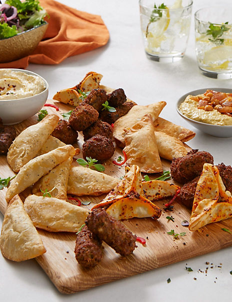 Mediterranean-Style Snacking Selection (Serves 6)