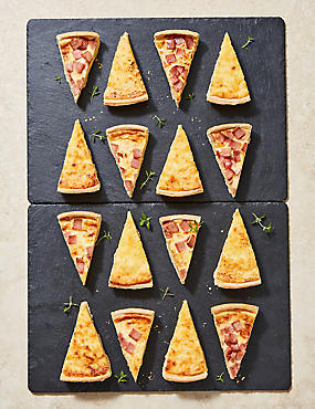 Quiche Slice Selection (16 Pieces)