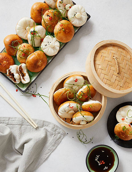24 Mushroom Steamed Buns (24 Pieces) - Ready to Collect from 1st November