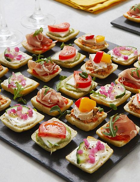 Antipasti Mini Canapé Selection (24 Pieces)