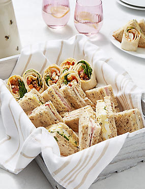 Gluten Free Sandwich & Wrap Platter (20 Pieces)