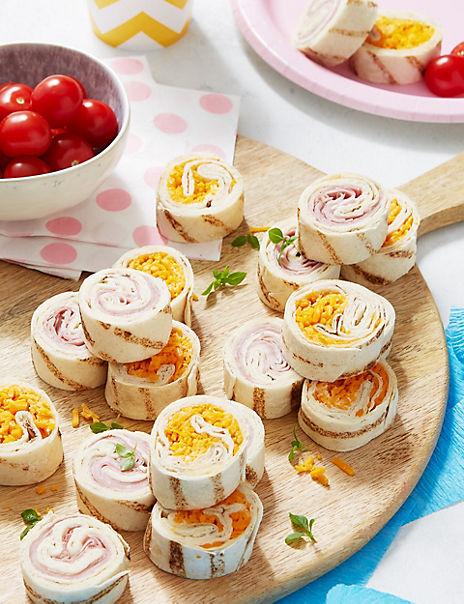Children's Party Mini Wrap Slices (20 Pieces)