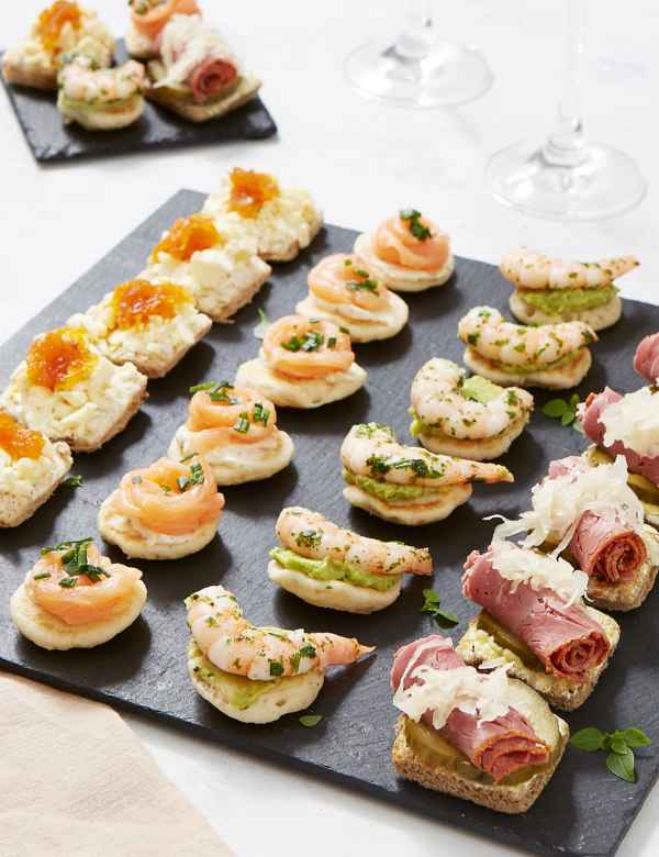 Canapés Canapé Ideas Dishes For Parties Ms