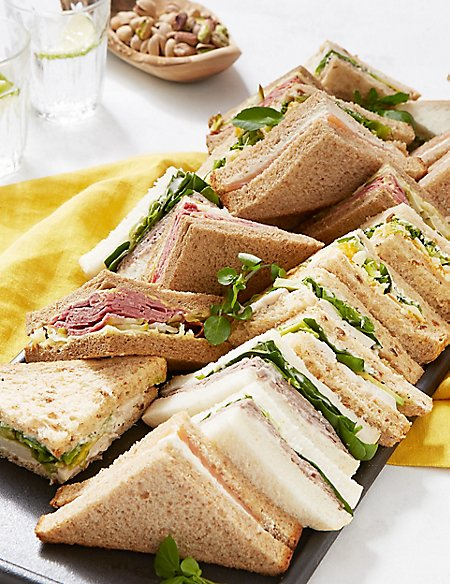Luxury Sandwich Selection (20 Pieces)