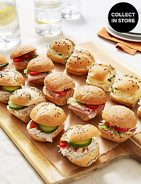 Classic Mini Roll Platter (15 Pieces)