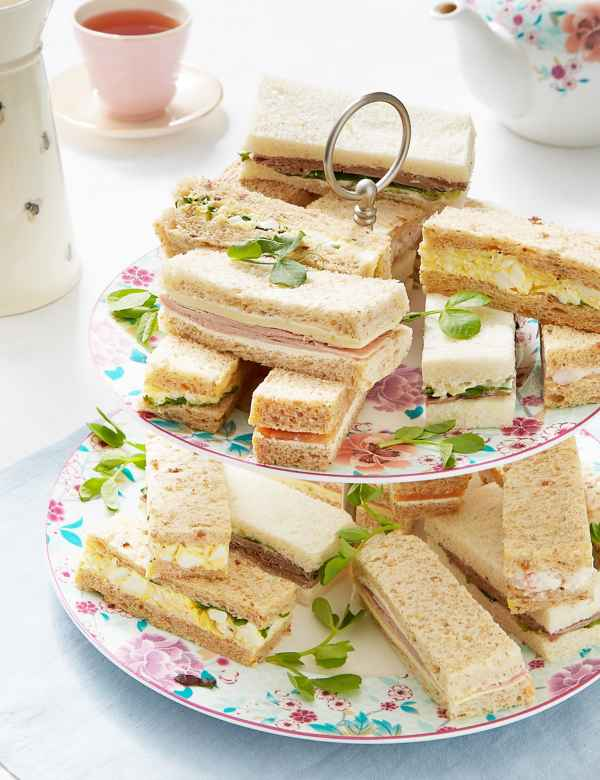 Sandwich Platters | Mini Wraps & Rolls Tray for Parties | M&S