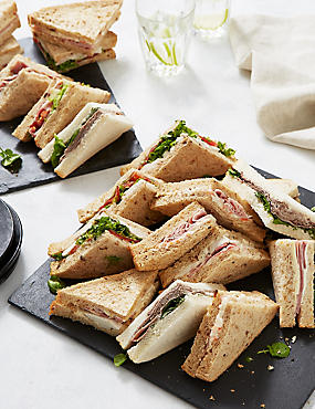 Meat Sandwich Selection (20 Pieces)